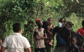 Grupos promigrantes marchan en Texas contra el maltrato de EU a haitianos