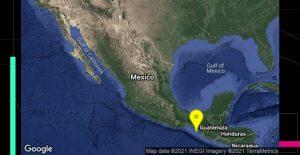 Se registra sismo en Chiapas con magnitud de 5.1; no se reportan daños