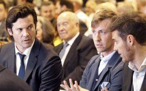Solari y Guti coincidieron en el Real Madrid, donde no se valoró al argentino como DT, según el español. (Foto: EFE).