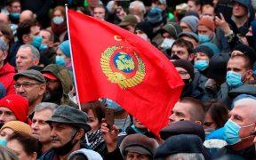 Protestas en Moscú por resultados electorales que dan ventaja al partido oficialista