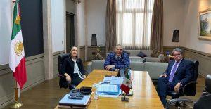 Adán Augusto López se reúne con Monreal y Sheinbaum para revisar la agenda legislativa de la CDMX
