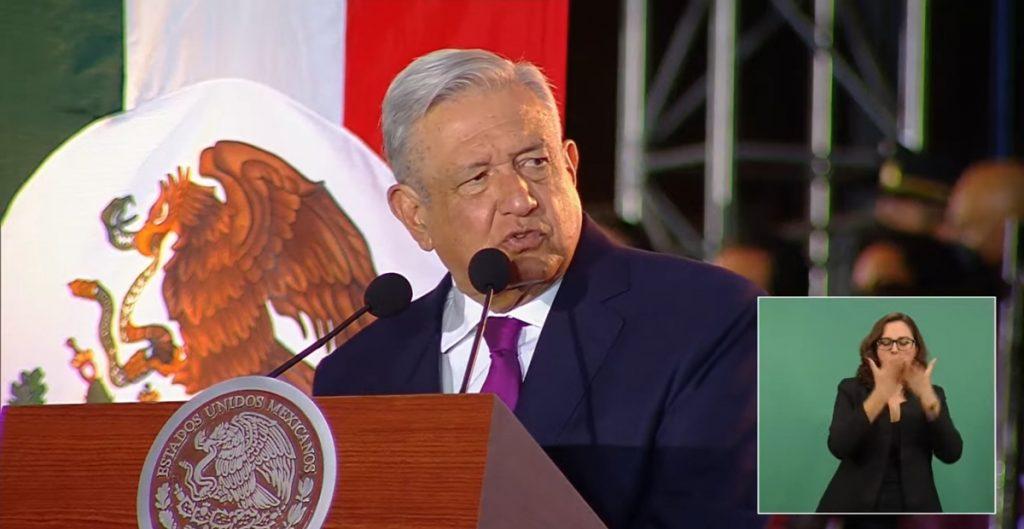 """""""No olvidamos, pero nos declaramos partidarios de la paz"""", dice AMLO al llamar a mantener relación de amistad de México con el mundo"""