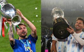 Italia y Argentina se enfrentarán en 2022. (Fotos: Reuters).