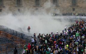 ERUM reporta 37 personas lesionadas tras protestas feministas en CDMX