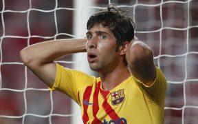Sergi Roberto retrara perfectamente la debacle del Barcelona. (Foto: Reuters).