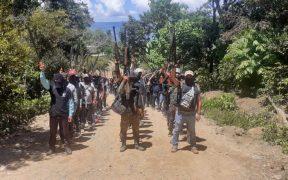 Grupos de autodefensa rechazan nuevo gobierno municipal en Pantelhó, Chiapas
