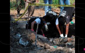 Critican a la CNB por intentar atribuirse el hallazgo de un campo de exterminio del crimen en Tamaulipas