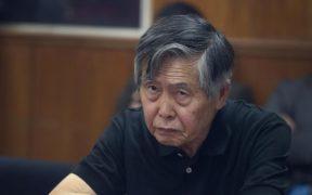 Trasladan a hospital al expresidente de Perú Alberto Fujimori por baja oxigenación
