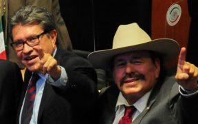 """Ricardo Monreal """"es mi gallo; vamos a emparejar el piso para que en 2024 sea presidente"""", dice el senador Guadiana"""