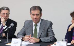 Diputados citan a comparecer el 5 de noviembre a Lorenzo Córdova del INE