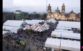 Feria del Libro del Zócalo reinaugura la vida cultural de la CDMX