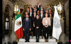 Sheinbaum se reúne con los 16 alcaldes electos de la CDMX