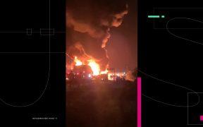 Pipa explota en caseta en Tultepec, Estado de México; no se reportan víctimas