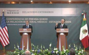 Inversión, desmantelamiento de cárteles y reducción en tráfico de armas, bases del nuevo Entendimiento Bicentenario entre México y EU