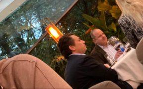 Difunden presuntas fotografías de Emilio Lozoya en restaurante de la Ciudad de México