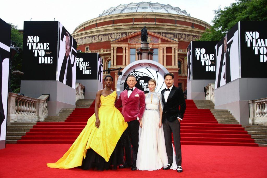 'No Time to Die' recaudó 56 millones de dólares en EU en su fin de semana de estreno