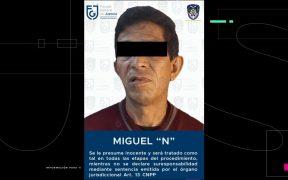 Fiscalía de la CDMX detiene a posible violador serial, vinculado con al menos 27 ataques sexuales