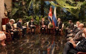 Presidente de Cuba recibe a vicepresidente ruso, enviado especial de Putin
