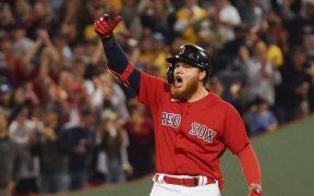 Alex Verdugo, jardinero mexicoamericano de los Red Sox. (Foto: Reuters).