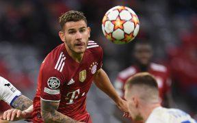 El francés Lucas Hernández, en un partido con el Bayern Munich. (Foto: Reuters).
