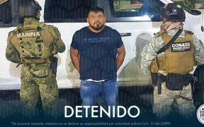 """Detienen en CDMX a """"El Rex"""", líder del Cártel de Palmillas de Querétaro; UIF bloquea sus cuentas"""