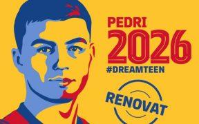 El Barcelona amarra a su joven estrella hasta 2026. (Foto: FC Barcelona).