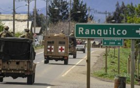 Despliegue militar en sur de Chile por estado de emergencia
