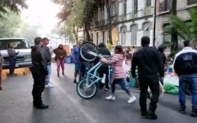 Riña por desalojo de edificio en la colonia Juárez motivó presencia de la policía de la CDMX: SSC