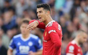 Cristiano no pudo evitar la derrota del United. (Foto: Reuters).