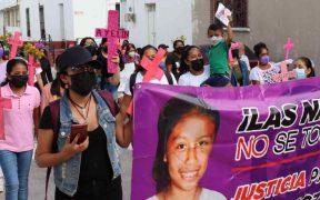 Marchan a un año del feminicidio de la niña Ayelín en Guerrero; acusan abandono de investigación