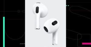 Apple presenta sus nuevos AirPods tercera generación con audio espacial
