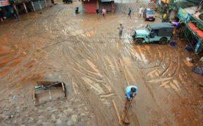 Suman 43 muertos por las fuertes lluvias en la India