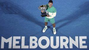 Djokovic es el actual campeón del Abierto de Australia. (Foto: AP).