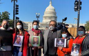 """""""No nos hagan invisibles"""" piden en Washington madres de migrantes desaparecidos en la ruta a EU"""