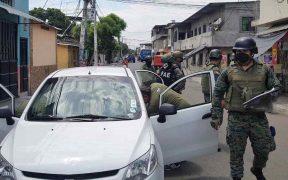 Ecuador vive su primer día de excepción para frenar al narco bajo un fuerte despliegue de Fuerzas Armadas