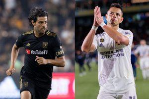 Vela y Chicharito dominan los salarios en la MLS. (Foto: Archivo).
