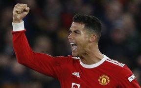 Cristiano Ronaldo marcó el 3-2 con un gran remate con la cabeza. (Foto: Reuters).