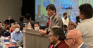 Cancelan primera conferencia de Evo Morales en visita a México tras dos años