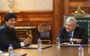 Evo Morales se reúne con AMLO esta noche en Palacio Nacional