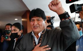 Evo Morales respalda a AMLO en su intención de querer nacionalizar el litio