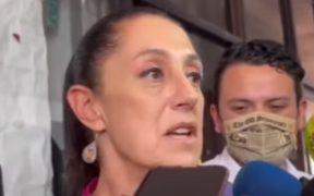 """""""Oposición fascista"""", responde Sheinbaum a críticas de Claudio X. González y pide que la """"anoten con la 4T"""""""