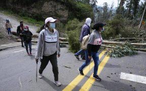 Ecuador protesta contra las políticas del presidente Guillermo Lasso con paro nacional