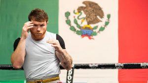 Canelo espera que él y Checo hagan vibrar a México el mismo fin de semana. (Foto: @Canelo).